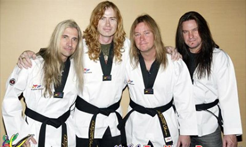 Dave Mustaine de Megadeth, embajador de buena voluntad del Taekwondo