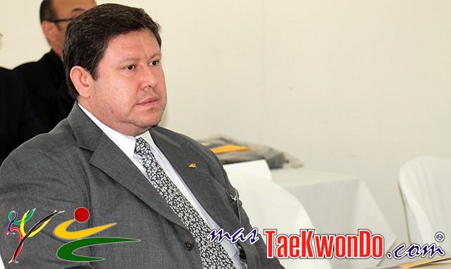 Alejandro Mansilla es el presidente de la Federación Boliviana de Taekwondo. Foto: Archivo.