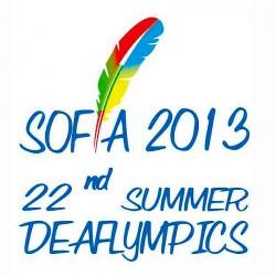 Deaflympics 2013_Sofia Bulgaria_LOGO