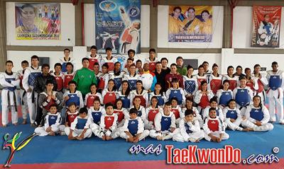El equipo nacional juvenil de Aruba realizó un campamento de entrenamiento en el Centro Internacional de Alto Rendimiento de Taekwondo, que tiene sede en la ciudad colombiana de Sogamoso.