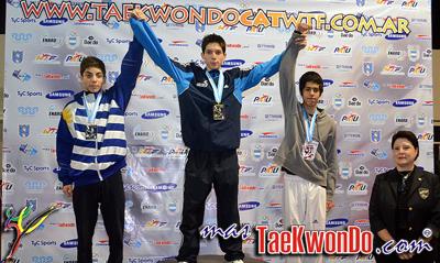 Resultados de las categorías Cadetes y Juveniles del 1er Argentina Open que se llevó a cabo el 31 de agosto y 1 de septiembre en la ciudad de Buenos Aires, Argentina.