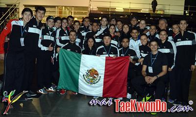 Luego de finalizar la segunda jornada con catorce medallas de las cuales siete fueron doradas, México le dio gran realce internacional al Abierto de Argentina que sumó puntos para el Ranking Mundial como G-1.