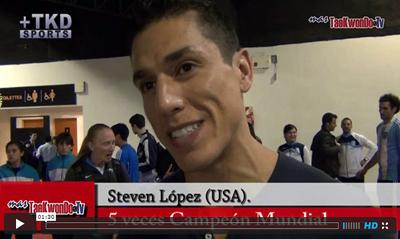 El quíntuple campeón mundial y bi campeón olímpico de los Estados Unidos, conversó con MasTaekwondo TV sobre la conquista del título en la categoría Welter -80 Kg. durante el Abierto de Argentina el domingo 1 de septiembre.