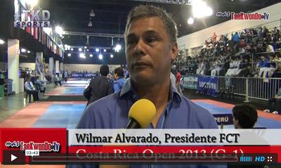 El 6to Costa Rica Open que se llevará a cabo en la ciudad de San José entre el 1 y 6 de octubre, ya promete la participación de grandes estrellas. MasTaekwondo TV conversó con Wilmar Alvarado, Presidente de la FCT.