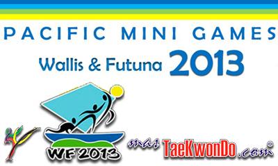"""Los """"Pacific Mini Games"""" son una competición deportiva internacional que reúne a los 22 estados y territorios del Pacífico y que están bajo la supervisión del Consejo de Juegos del Pacífico. El Taekwondo participó y fue G-1."""