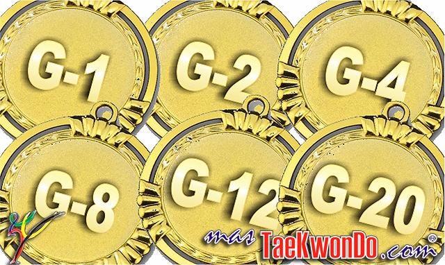 """El número que viene a continuación de la """"G"""" en los eventos ranqueables, se convirtió en un dato muy importante, ya que según la calificación que tenga cada competencia reconocida como """"G"""", es la cantidad de puntos que sumará en el Ranking."""