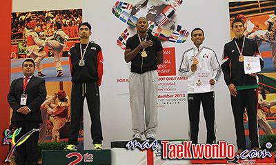 Resultados Parciales de la categoría Sénior del Pan Americano Abierto 2013 Internacional de Taekwondo, el cual se lleva a cabo entre el 20 y 22 de septiembre en el Centro de Congresos de la ciudad de Querétaro, México. El mismo es de categoría G-1 del Ranking Mundial.