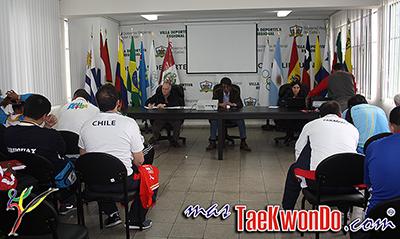 El Taekwondo ya está formando parte de los I Juegos Suramericanos de la Juventud Lima 2013 que se están realizando en Lima, Perú. Nuestro deporte tuvo su congreso y sorteo el sábado 21 y competirá el 22 y 23 de septiembre.