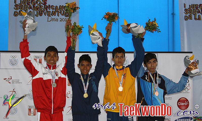 IJSJ_Lima-2013_Taekwondo_D1_PODIO_M-48