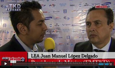 MasTaekwondo TV entrevistó al presidente de la Federación Mexicana de Taekwondo, Juan Manuel López Delgado, quien nos adelanta detalles sobre todos los eventos Panamericanos que se realizarán en Querétaro entre el 20 y 22 de septiembre.