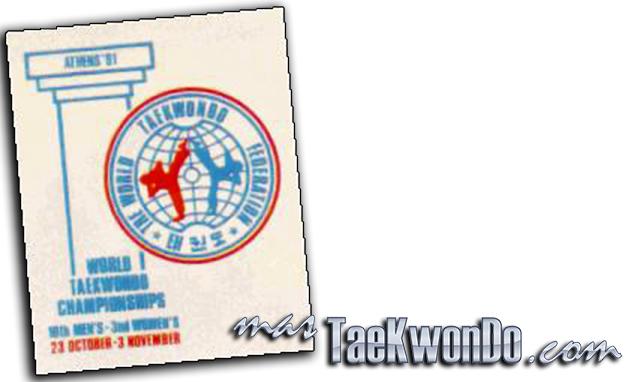 El Décimo Campeonato Mundial de Taekwondo masculino y la Tercer edición del femenino se celebró en Atenas (Grecia) del 28 de Octubre al 3 de Noviembre de 1991, con la participación de un total de 434 competidores de 49 países.