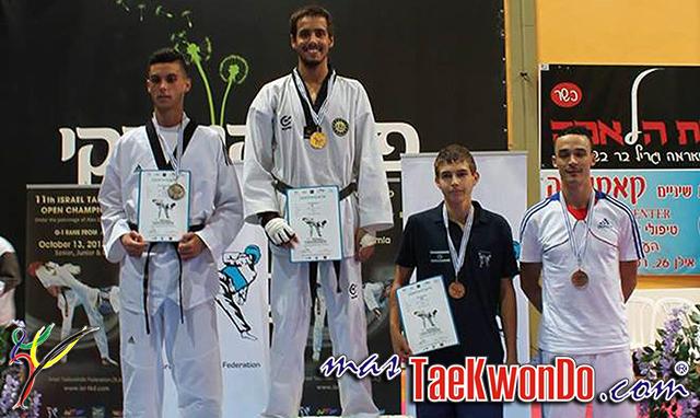 Resultados del Open de Israel catalogado en la categoría G1 de WTF, el mismo se realizó el pasado domingo 13 de Octubre en la ciudad de Ashdod, Israel.