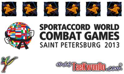 Les presentamos los equipos de Taekwondo que estarán formando parte de la segunda edición de los Juegos Mundiales de Combate SportAccord, que se llevan a cabo del 18 a 26 octubre de en San Petersburgo, Rusia.