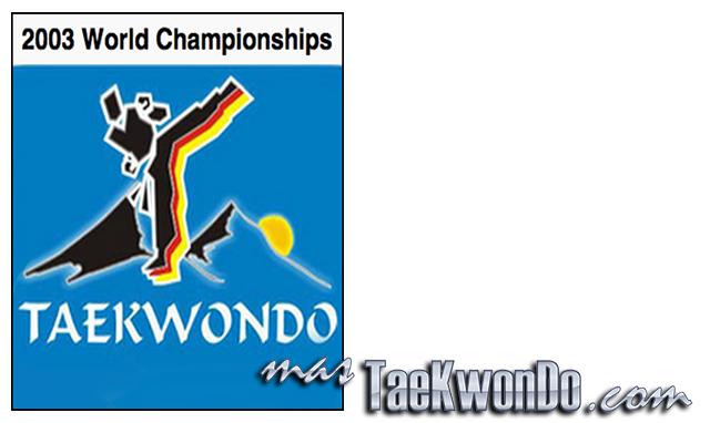 """El Décimo Sexto Campeonato Mundial de Taekwondo masculino y la novena edición del femenino se celebró en el estadio """"Olympia-Eissport-Zentrum"""" de Garmisch-Partenkirchen (Alemania) del 24 al 29 de Septiembre de 2003, con la participación de un total de 894 competidores de 97 países."""