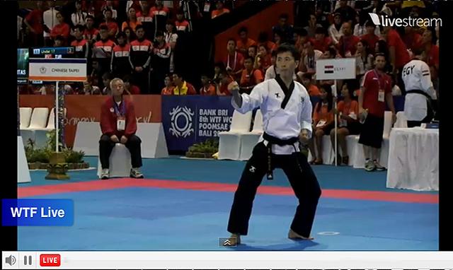 """Sigan en VIVO el desarrollo del """"8th WTF World Poomsae Taekwondo Championships"""" que se está llevando a cabo en Bali, Indonesia, entre el 31 de octubre y el 3 de noviembre de 2013."""