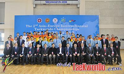 """El """"2nd Asia-Europe Intercontinental Taekwondo Championships"""" llevado a cabo el 17 de noviembre en la ciudad de Shenzhen, China quedó en manos del representativo de Asia. El evento tuvo el formato TK-5."""
