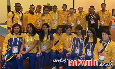 """La Selección Colombia de Taekwondo está lista para entrar en acción en los """"XVII Juegos Deportivos Bolivarianos"""" en la ciudad de Trujillo, Perú, que comenzaron el 16 de noviembre y se extenderán hasta el 30 del corriente."""
