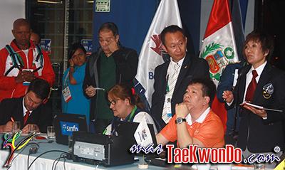 """En el día de ayer se realizó el sorteo de las llaves de los """"XVII Juegos Deportivos Bolivarianos Trujillo 2013"""", en el cual el Taekwondo comienza hoy 25 hasta el 28 de Noviembre en el Polideportivo """"Huaca del Sol"""". Aquí las GRAFICAS COMPLETAS."""
