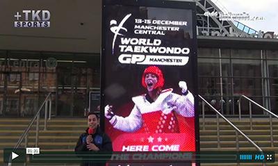 """""""MasTaekwondo TV"""" ya está trabajando en la ciudad británica de Manchester dando la mejor cobertura de lo que será el 2013 World Taekwondo Grand Prix."""
