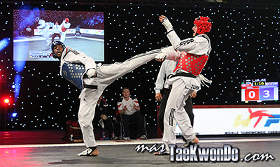 """Galería de imágenes de la 2da jornada del """"2013 World Taekwondo Grand Prix"""", que se desarrolló en el estadio Manchester Central de esa ciudad en el Reino Unido de Gran Bretaña."""