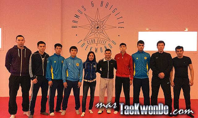 Desde el pasado 10 de enero, el Equipo Nacional de Taekwondo de Kazakstán, se encuentra entrenando en el Club Elite Ramos & Brigitte realizando entrenamientos de perfeccionamiento de cara a eventos ranqueables.