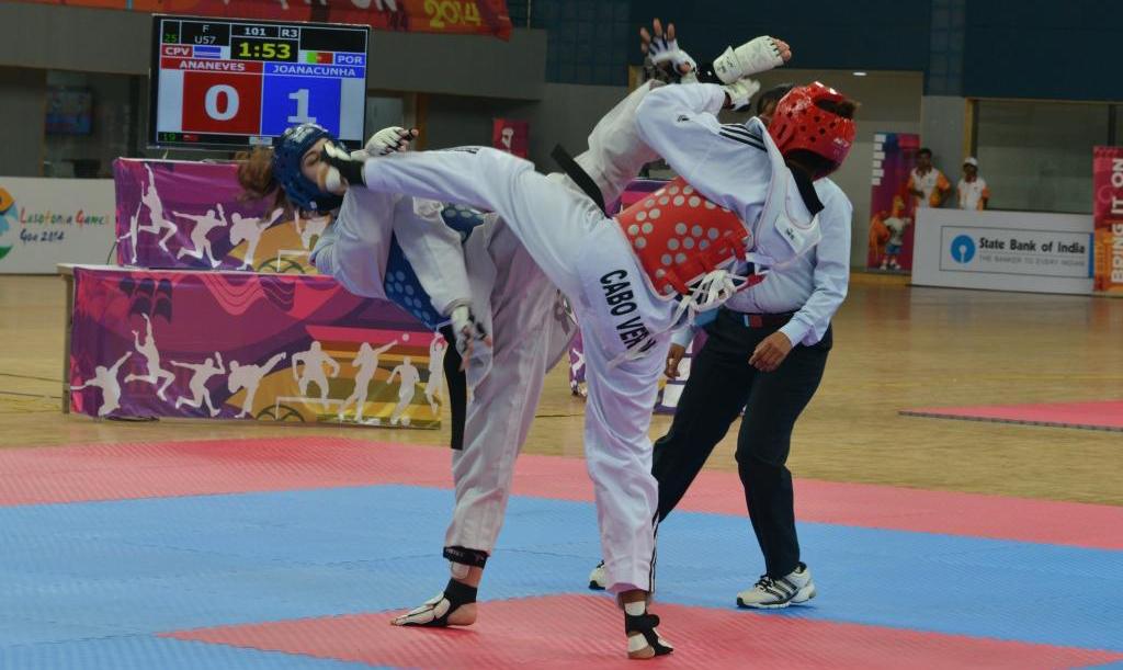 Resultados completos del Taekwondo durante los Juegos de la Lusofonia (exclusivos para países de habla portuguesa) que formó parte de este evento el 26 de enero de 2014 en el Multi-purpose Indoor Stadium, Peddem de la ciudad de Goa, India.