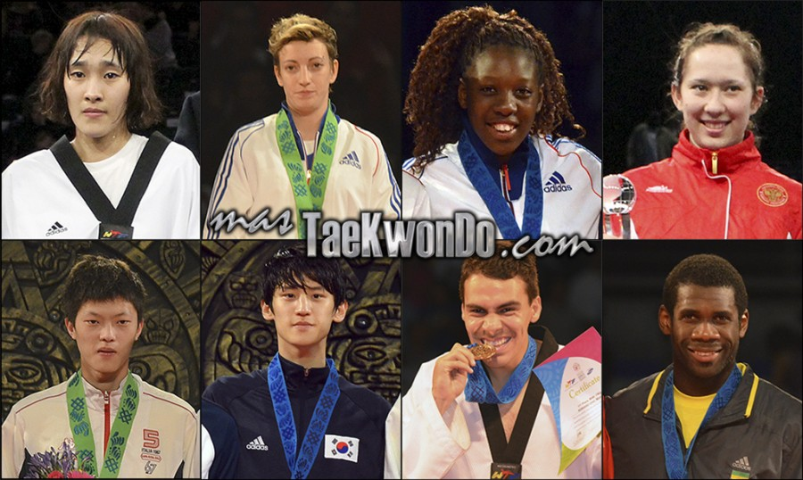 The world's sixteen best-ranked in each Olympic category (-49, -57, -67 and +67 Kg. female; -58, -68, -80 and +80 Kg. male) for February 2014 according to World Taekwondo Federation (WTF).