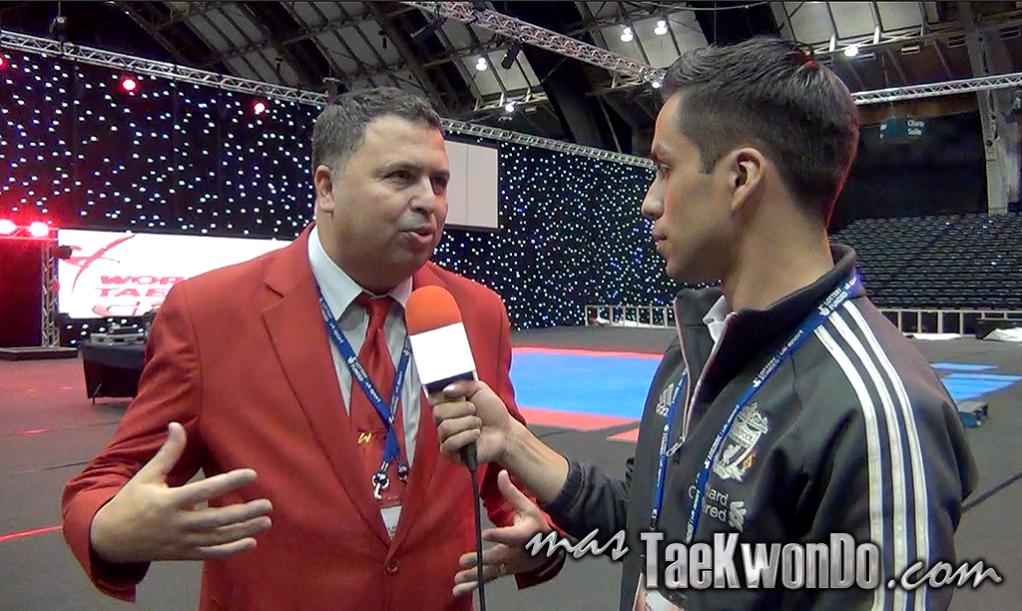 El reconocido Referee Internacional sueco Chakir Chelbat, fue confirmado por el presidente de la WTF, Dr. Chungwon Choue, para continuar al frente de la Comisión de Arbitraje de la Federación Mundial de Taekwondo.