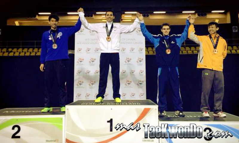 Resultados completos de la primera jornada del Abierto de Canadá, evento catalogado por la Federación Mundial de Taekwondo como G-1, que se lleva a acabo del 13 al 16 de Febrero en Montreal, Canadá.