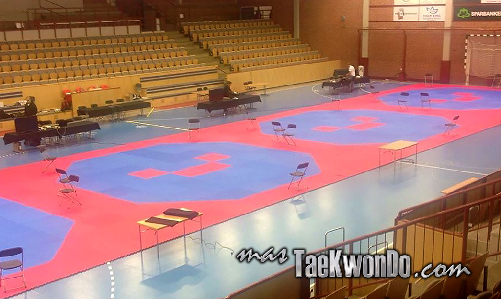 La World Taekwondo Federation acaba de confirmar que para el WTF World Qualification Tournament for Nanjing 2014 Youth Olympic Games y para el 10th WTF World Junior Taekwondo Championships, las áreas de competencia serán octogonales.