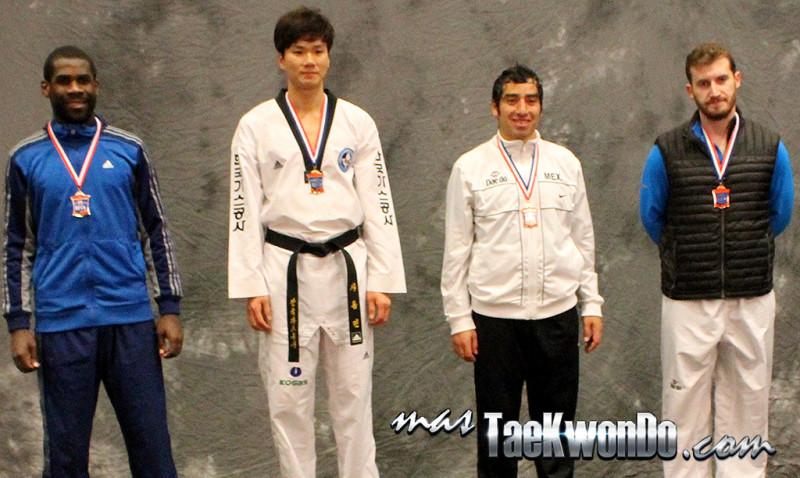 Resultados del primer día del Abierto de Estados Unidos, evento catalogado por la Federación Mundial de Taekwondo como G-2, que se lleva a acabo del 19 al 23 de Febrero en la ciudad de Las Vegas, Nevada.