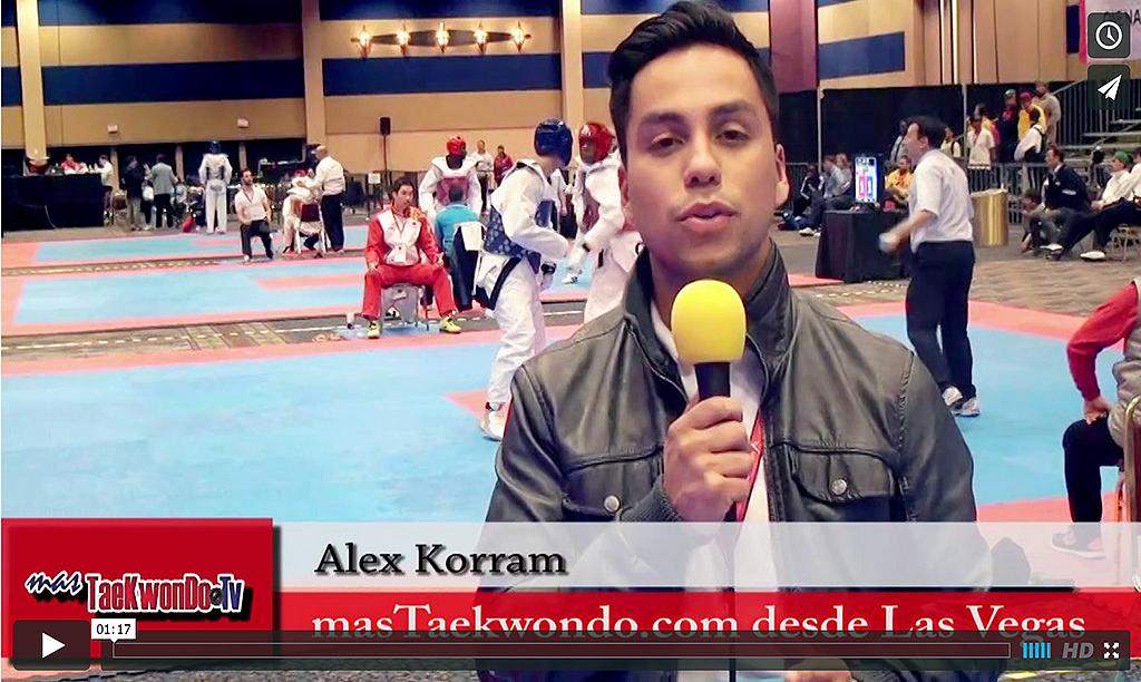 MasTaekwondo.com se encuentra en la ciudad de Las Vegas, dando cobertura al US Open 2014. Desde el 19 al 23 se estará realizando este tradicional evento catalogado como G-2.