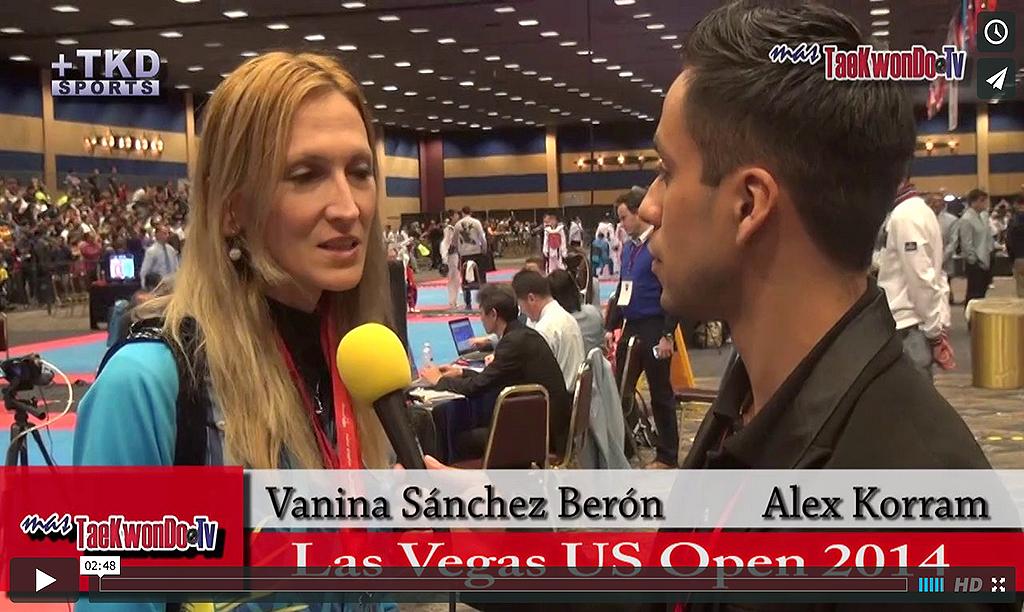 """""""MasTaekwondo TV"""" conversó en exclusiva con Vanina Sánchez Berón, entrenadora de la Selección Femenina de Argentina en el"""