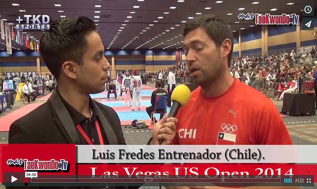 """""""MasTaekwondo TV"""" conversó en exclusiva con Luis Fredes, entrenador de la Selección de Chile en el"""