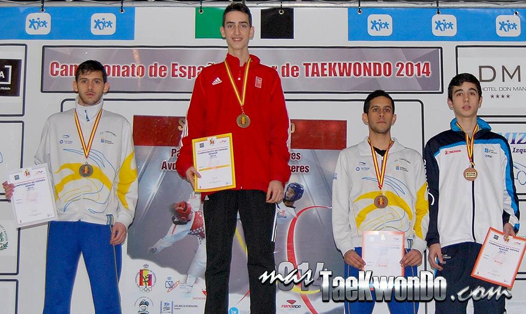 La Real Federación Española de Taekwondo realizó su Campeonato Absoluto en Cáceres, Extremadura, este sábado 1 de marzo, en el que se reunieron 280 competidores de 17 autonomías en el Pabellón Multiusos de dicha ciudad extremeña. Aquí los Resultados Completos.