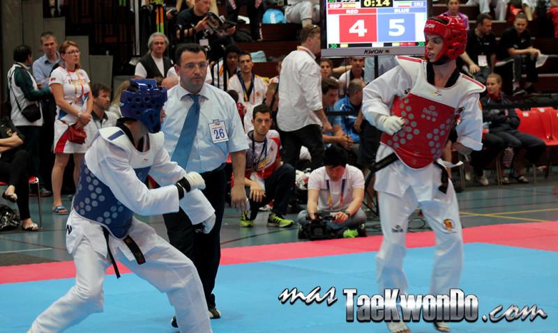 La quinta edición del Campeonato Mundial de Para-Taekwondo se llevará a cabo en Moscú, Rusia el 21 y 22 de junio de 2014 y solo participarán tres divisiones de peso femeninas y tres masculinas.