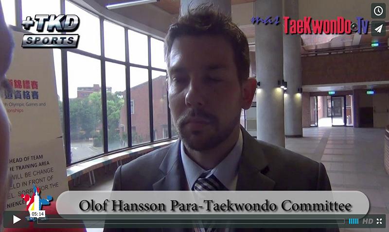 """Olof Hansson conversó en exclusiva con """"masTaekwondo TV"""" sobre el proceso de inclusión del Para-Taekwondo para los Juegos Paralímpicos de Río 2020. Nuestro deporte acaba de superar una importante instancia y tiene muchas posi-bilidades de obtener """"Estatus Paralímpico""""."""