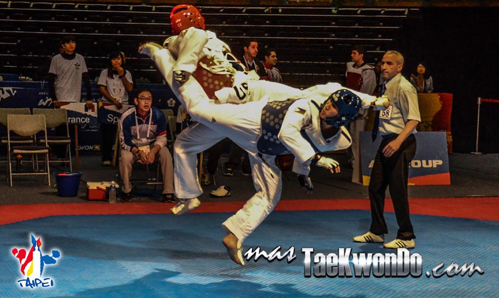 """Galería de fotos del primer día (23 de marzo) del """"10th WTF World Junior Taekwondo Championships"""", que se desarrolla en el estadio del """"Taipei Arena""""."""