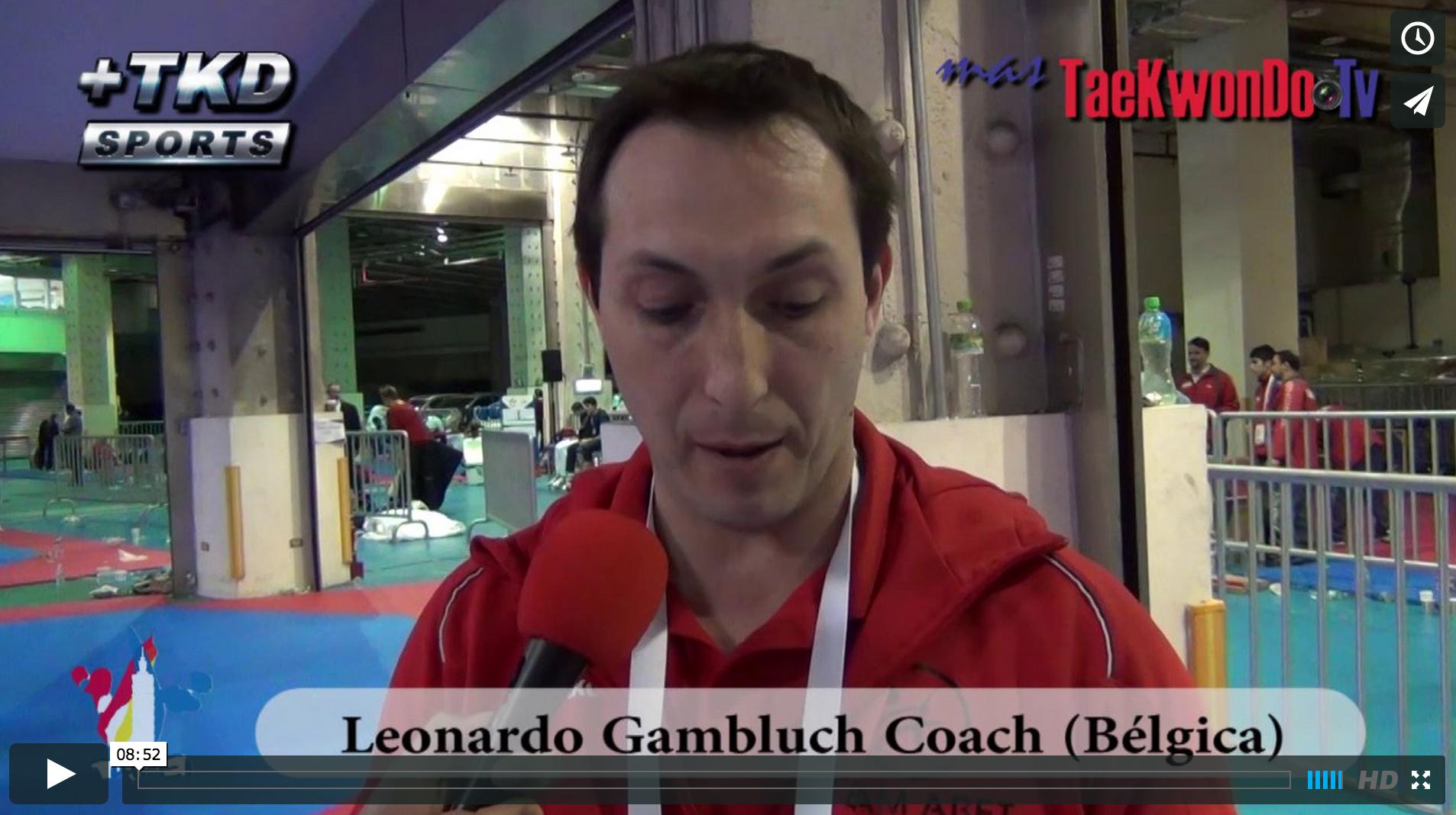 Bélgica, que está conformada actualmente por dos federaciones, clasificó en su conjunto a cuatro deportistas. MasTaekwondo TV conversó con el entrenador de la Asociación Belga Francófona de Taekwondo, el argentino Leonardo Gam-bluch, quien nos explica en detalle como funciona el Taekwondo en Bélgica.
