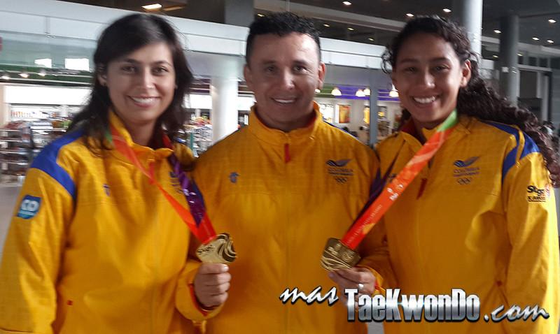 Equipo femenino de Colombia demostró superioridad en los ODESUR