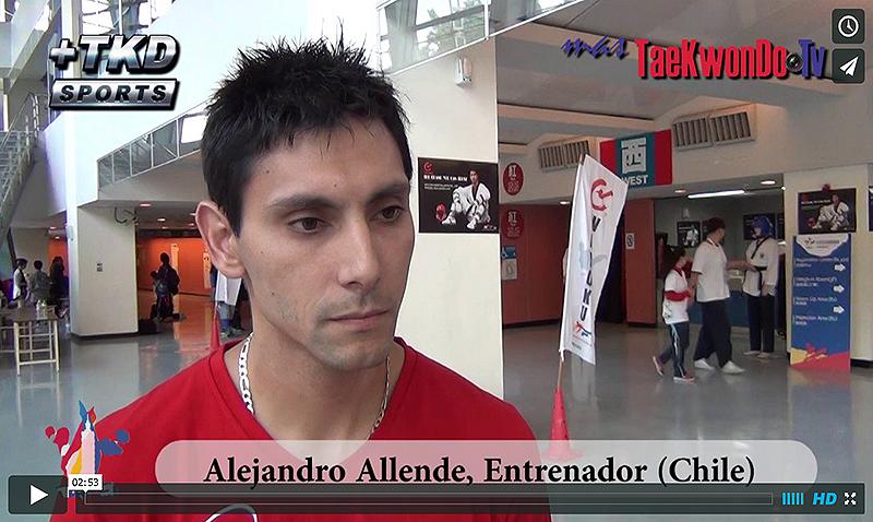 """""""MasTaekwondo TV"""" Entrevistó a Alejandro Allende de Chile, quien como responsable técnico en China Taipei, nos comentó como fue el camino hacia la clasificación de Gerard Arriagada a los Juegos Olímpicos de la Juventud """"Nanjing 2014""""."""