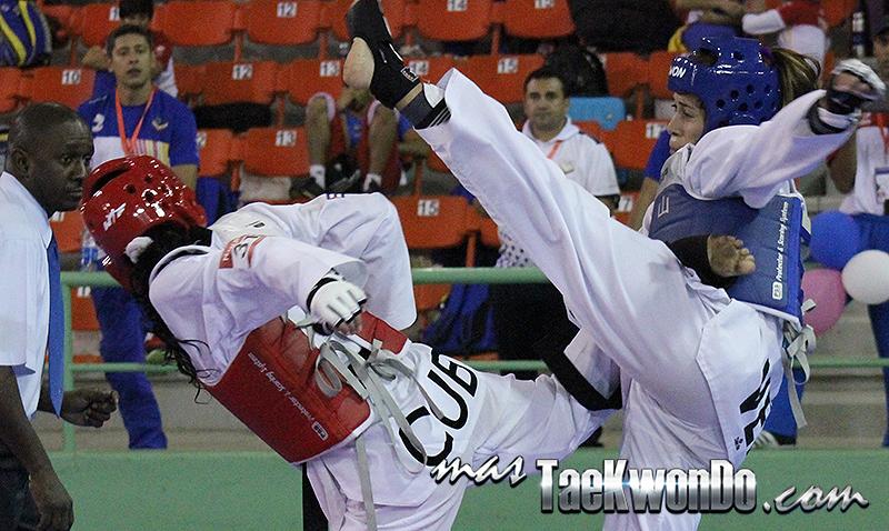 Fotos de los combates realizados en el clasificatorio para Veracruz 2014, que se desarrolla el 2 y 3 de abril en Santo Domingo, República Dominicana.