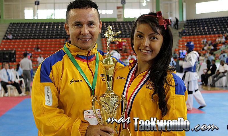 Tuvimos la oportunidad de entrevistar a la colombiana Ibeth Camila Rodríguez Piracón, quien fue declarada como la mejor deportista femenina del Clasificatorio para los Juegos Centroamericanos y del Caribe y a su entrenador René Forero.