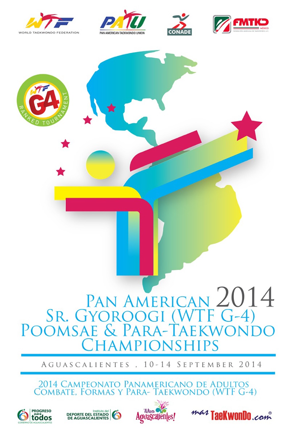 Cartel Panamericano 2014-G4