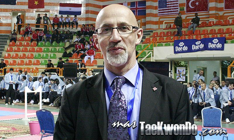 Conversamos en exclusiva con el francés Philippe Bouedo, Director del Comité de Juegos y Sub Director del Comité Técnico de WTF, una figura clave en la evolución del Taekwondo dentro del Programa Olímpico.