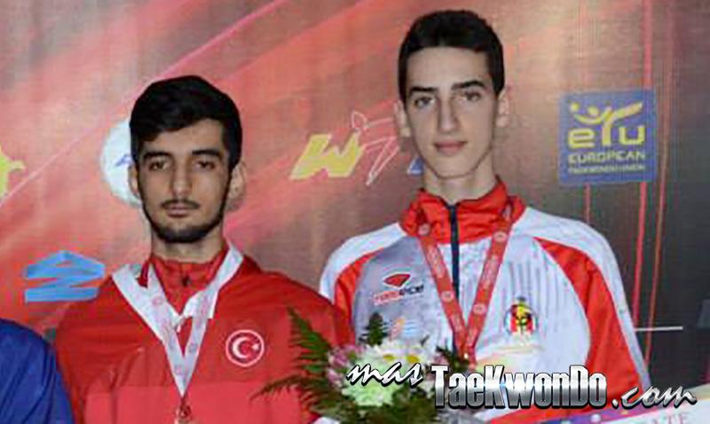 """El español Jesús Tortosa consiguió la medalla de bronce en la categoría de menos de 54 kilos, en el """"European Taekwondo Senior Championships 2014"""" que se está celebrando en Bakú, Azerbaiyán."""