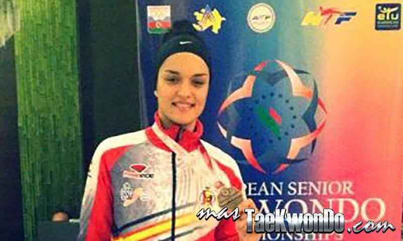 España consiguó su segunda medalla en Europeo, que se están disputando en Azerbaiyán, gracias a la soberbia actuación realizada por Rosanna Simón, que logró un bronce en la categoría de +73 kilos.