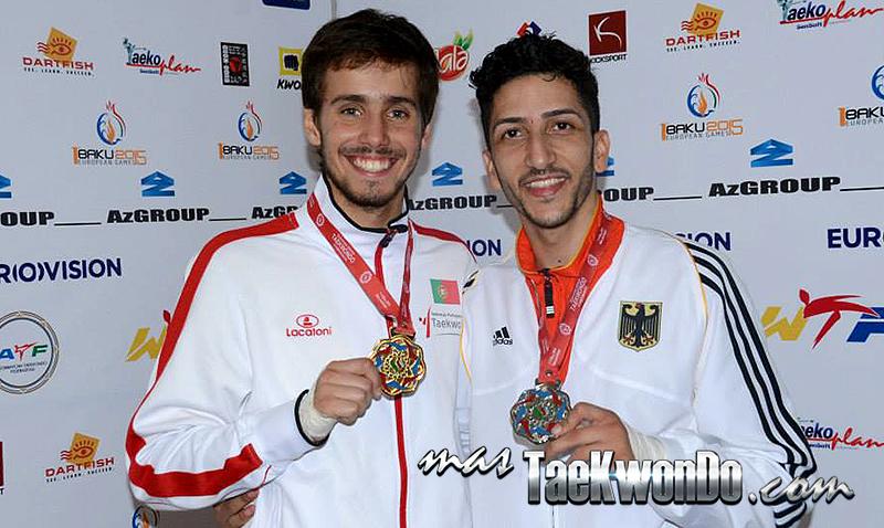 "Rui Bragança de Portugal (Sub Campeón Mundial Gyeongju 2011) conquistó la medalla dorada en el ""European Taekwondo Senior Championships 2014"" que se está celebrando en Bakú, Azerbaiyán."