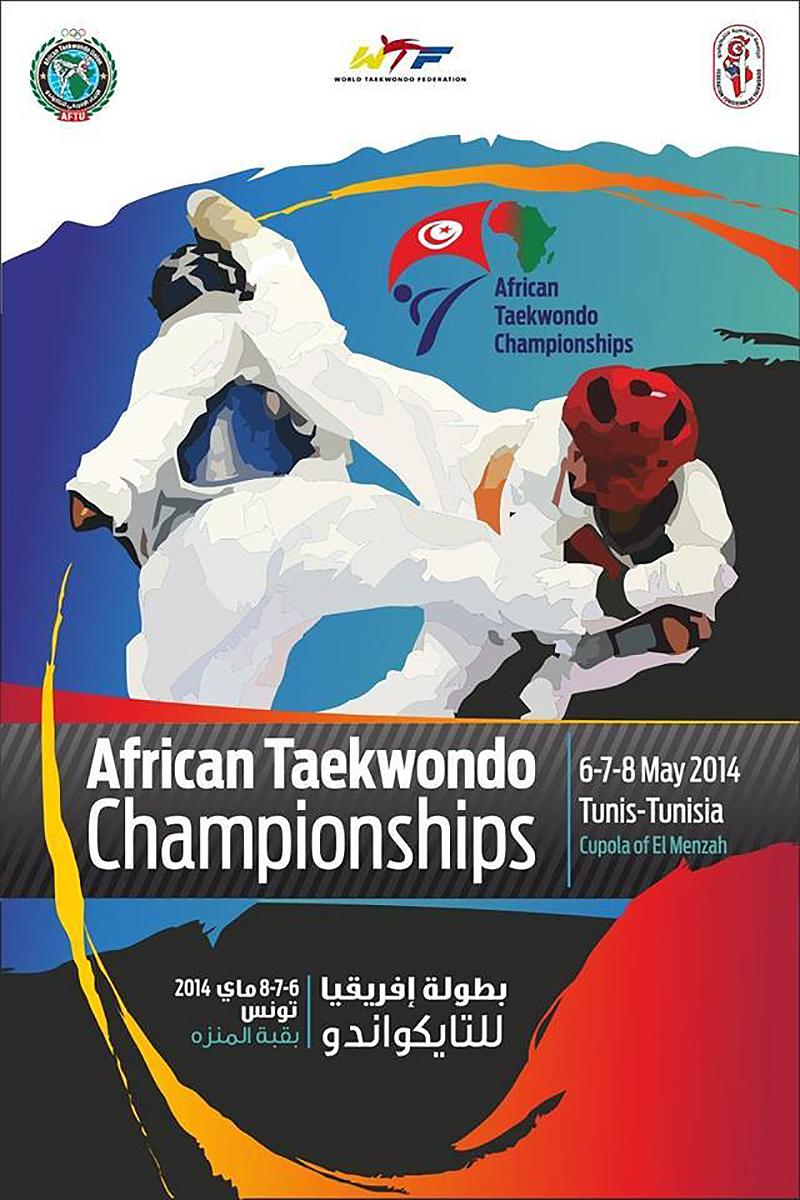 Taekwondo AFTU African Championships 2014_