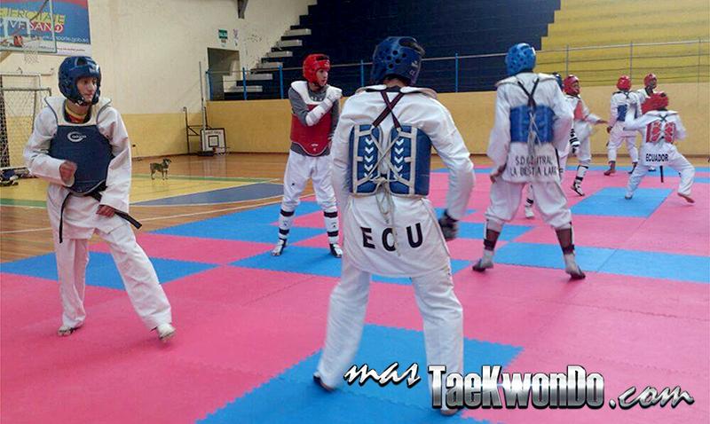 El equipo nacional se encuentra en la provincia de Tungurahua, convocados por la misma Federación Ecuatoriana de Taekwondo de cara a la participación en el Ecuador Open Championships de este año.